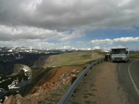 Traveling in Yellowstone